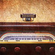 Westinghouse Fm Rainbow Tone Radio Art Print