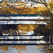Westport Covered Bridge - D007831a Art Print by Daniel Dempster