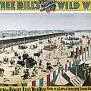 W.f.cody Poster, 1894 Art Print