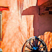 Wheel And Ice Art Print