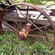 Wheel In Time Photograph Art Print