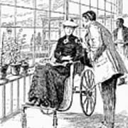 Wheelchair, 1886 Art Print