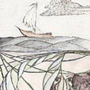 Where The Deep Currents Run... - Sketch Print by Robert Meszaros