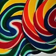 Whirly Pop 2 Art Print