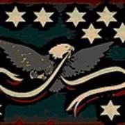 Whiskey Rebellion Flag Art Print