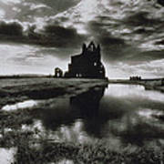 Whitby Abbey Art Print by Simon Marsden