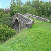 White Bridge Scotland Art Print