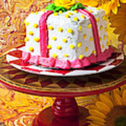 White Cake Art Print