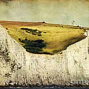 White Cliffs Lighthouse Art Print
