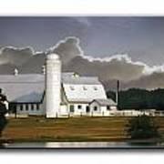 White Farm Art Print