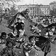 White House: Easter, 1887 Art Print