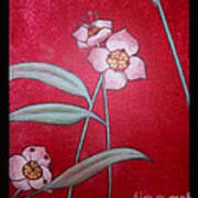 White Lotus Bottom  Art Print