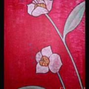 White Lotus Top Art Print