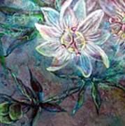 White Passion Art Print