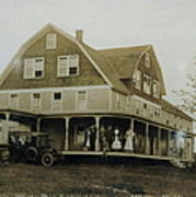White Roe Boarding House-owner E Keene Prior To My Grandfather. Circ 1900s Art Print