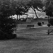 White Roe Lake Hotel - Livingston Manor Ny - Lawn To Lake Art Print