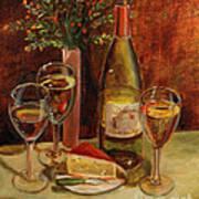 White Wine-dreams Art Print