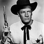 Wichita, Joel Mccrea, 1955 Art Print by Everett