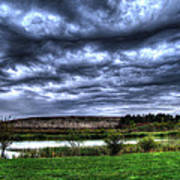Wicked Wave Clouds Art Print