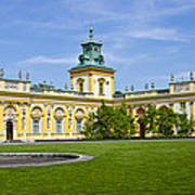 Wilanow Palace - Warsaw Art Print
