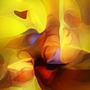 Wild About Saffron Art Print