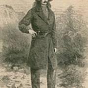 Wild Bill Hickok 1837-1876, Portrait Print by Everett