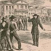 Wild Bill Hickok Was A Gunfighter Art Print
