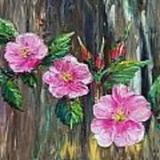 Wild Roses 09 Art Print