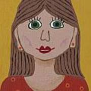 Wild Woman One Art Print by Marilyn West