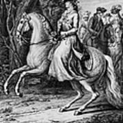 Wilhelmina Of Prussia Art Print