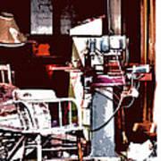 Willburn Furniture And Restoration Needs Restoring Art Print