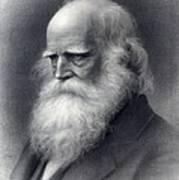 William Cullen Bryant 1794-1878 Was An Art Print