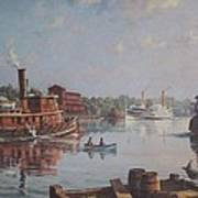 William G Muller Rondout Creek Art Print