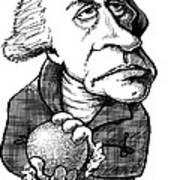 William Herschel, Caricature Art Print