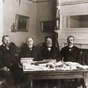 William Howard Taft Center Headed Art Print