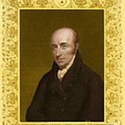 William Hyde Wollaston, English Chemist Art Print
