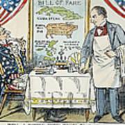 William Mckinley Cartoon Art Print
