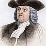 William Penn, English Coloniser Art Print