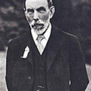 William Ramsay, Scottish Chemist Art Print