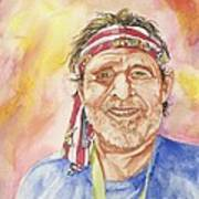 Willie Wanna-be Art Print