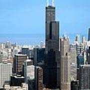 Willis Sears Tower 01 Chicago Art Print