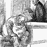 Wilson Cartoon, 1913 Art Print