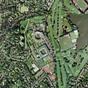 Wimbledon Tennis Complex, Uk Art Print by Getmapping Plc