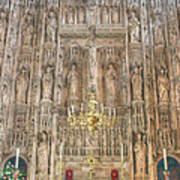 Winchester Cathedral High Altar Art Print