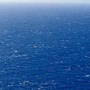 Wind Creates White-capped Waves Art Print