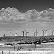 Wind Farm II Art Print