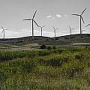 Wind Farm Iv Art Print