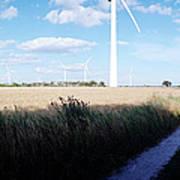 Wind Farm - Skaane Art Print
