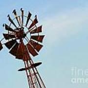 Windmill-3667 Art Print
