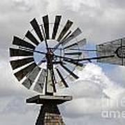 Windmill 6 Art Print